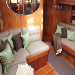 Yacht Cushions and Pillows re upholstery