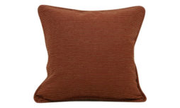 Chenille-Self-corded-pillow-cover---Firebrick
